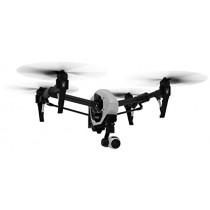 DJI Inspire DJIIN1R Drône Quadricoptère radiocommandé 1  UAV avec Caméra Vidéo Intégrée de 4K Full HD et une Commande  - Noir/Blanc