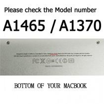 """Topideal Étui rigide pour MacBook Air 11"""" modèles A1370 et A1465 - Gris"""