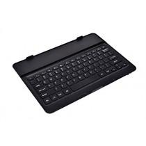Étui de clavier avec touches noires Cooper Cases (TM) Aluminium Buddy pour Samsung Galaxy Tab Pro 12.2 (T9000 / 3G T900 / LTE T905) Bluetooth 4.0 (très mince, très léger, métal brossé, encastré, 61 touches, capacité de la batterie 55 heures)