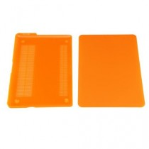 "SODIAL(R) Protecteur Transparent Rigide pour Macbook Pro 13,3 ""--Orange"