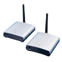 König VID-TRANS12KN Émetteur et récepteur audio/vidéo 2.4 GHz