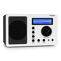 Auna IR-130 - Radio internet pour streaming Wifi musical - acces à plus de 8000 radios mondiales - blanc