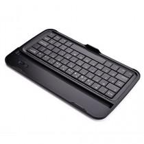 Étui de clavier avec touches noires Cooper Cases (TM) Aluminium Buddy pour Samsung Galaxy Tab 3 8.0 (T311 / T315 / T310) Bluetooth 3.0 (très mince, très léger, métal brossé, encastré, 61 touches, capacité de la batterie 55 heures)