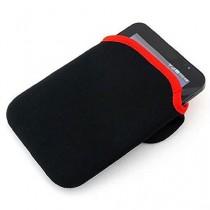 niceeshop(TM) 8 Pouces Ordinateur Portable Réversible Housse Sleeve pour Acer, Asus, Compaq, Dell, HP, Samsung, Sharp, Toshiba, Apple Macbook, Noir et Rouge