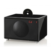 Geneva L Compact HiFi System with iPod Dock - Black