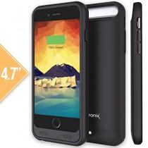 Coque avec batterie intégrée Alpatronix pour iPhone 6 - BX140 coque avec batterie intégrée homologué MFi Apple pour iPhone 6 avec chargeur amovible pour iPhone 6 [Ultra Fin / batterie 3100mAh / entièrement compatible iOS 8 / rechargeable / sans réduction