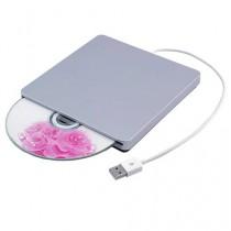 Patuoxun Lecteur/graveur de CD/DVD externe USB Compatible Apple MacBook Pro 13 inch, MacBook Pro 15 inch, MacBook Pro 17 inch, Mac Mini, iMac etc. /USB External Slot in DVD RW Drive Burner Superdrive For Apple MacBook Pro 13 inch, MacBook Pro 15 inch, Mac