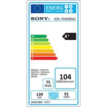 Téléviseur LED 139 cm 55 pouces Sony BRAVIA KDL55W805C EEK A
