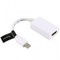 Mini DisplayPort vers HDMI câble pour Apple Macbook, Macbook Pro, iMac, MacBook Air, Mac Mini Laptop