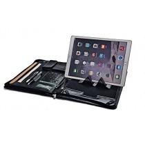 iCarryAlls Padfolio Organiseur Exécutif avec Béquille pour 12.9 inch iPad Pro,Noir