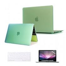 """se7enline [3en 1Bundle] pour Apple MacBook mk4m2ll/un modèle 30,5cm A1534pour ordinateur portable avec écran Retina 2015nouvelle version nouvelle libération Coque Soft Touch Givré See Thru Coque rigide en caoutchouc pour MacBook 30,5cm """"avec écran"""