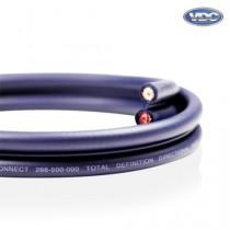 Câble d'haut-parleurs Van Damme Shotgun Audio Twin Interconnect (Hi-Fi directionnelle, définition totale) 268-500-000 150 Metre / 150M