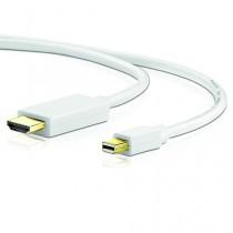Sentivus - 3m - Câble Mini DisplayPort vers HDMI (miniDP mâle vers HDMI mâle) - blanc - 3m - Contacts plaqués Or - idéal pour les Appareils Apple (MacBook Air, Mac Book Pro etc.) - PC ou TV - 1080p