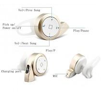 inShang Bluetooth 4.1 Mini stéréo écouteurs intra-auriculaires sans fil Oreillette Headset Earbud Earphone Earpiece Headphones avec Suppression de bruit/ Mains libres/ Micro intégré/ deux Smartphone connexion, correspondre avec 99% des smartphones, iPhone