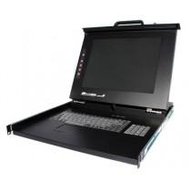 StarTech 1U Console LCD 43,2cm Rack-USB + PS/2