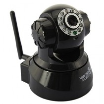 Sidiou Group Moniteur sans fil Caméra de surveillance réseau Pan & Tilt sécurité IP Spy Video HD 720p Night Vision Support de caméra carte 64G TF
