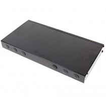 Fibre optique Patch Panel 1U FC 24 noir - Cablematic