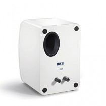 KEF LS50WH Enceinte pour MP3 & Ipod Bleu, Blanc
