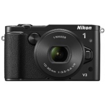 Nikon V3 + 10-30mm PD-zoom + DF-N1000 + GR-N1010 Appareil Photo Numérique Compact 18.4 Mpix Wi-Fi Noir