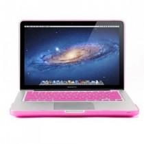 GMYLE Package Rose Rouge 3 en 1 pour Macbook Pro 13 - Coque mate - Skin clavier en silicone (US Layout) - Protecteur d'écran invisible (ne convient pas pour Macbook Pro 13 Retina)