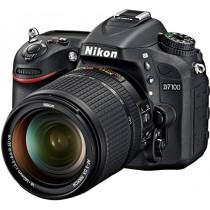 Nikon D7100 Appareil photo numérique Réflex 24,1 Mpix Kit Boîtier + Objectif AF-S DX 18-140 mm VR Noir