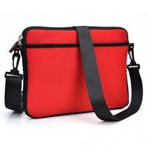 Kroo universel Housse de protection/sac bandoulière/Housse/Étui pour Alcatel OneTouch Evo 7HD/Pop 8Tablette rouge - Rouge/noir