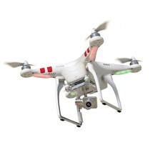 DJI Phantom 2 Vision+ V3.0 Quadrocoptère Blanc avec Caméra intégrée
