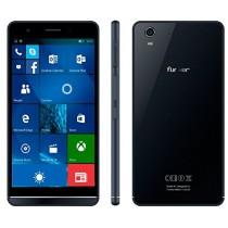 Funker W5.5 NOTE PRO - Smartphone 4G, 16GB, 2GB RAM, QuadCore, Windows 10 Mobile, Blue Métallique
