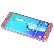 Dreams Mall(TM)Fashion Bling Brillant Autocollant Film Stikers Case Coque Protection pour Complet Corps pour Samsung Galaxy S6 Edge Plus-Rose