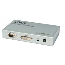 Lindy 38064  Single Link Kit Extendeur Fibre optique DVI-D 5000 m Gris