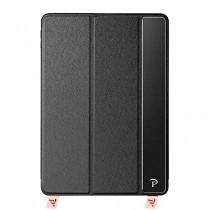 Oats® Coque - Apple iPad Air 2 Etui Housse de Protection Flip Case Cover Bumper en aluminium - Noir