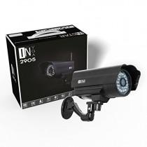 INSTAR IN-2905 (noir) IP de la caméra / WiFi 54 Mbps (résistant aux intempéries / Night Vision / antenne 5DB / TOUT NOUVEAU! Avec une adresse Internet fixe! Attention maintenant! Acheter! Un objectif grand-angle (155 degrés) ou un chauffage à commande aut