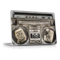 "Ecran Film Housse Autocollant de Protection pour Apple Macbook Pro 17"" Unibody - Boombox II - Gelaskins"