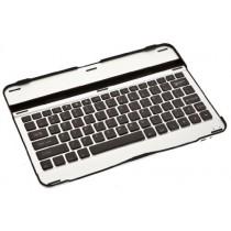 Étui de clavier avec touches noires Cooper Cases (TM) Aluminium Buddy pour Samsung Galaxy Tab 3 10.1 (P5200 / P5210 / P5220) Bluetooth 3.0 (très mince, très léger, métal brossé, encastré, 82 touches, capacité de la batterie 55 heures)
