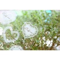 NOVAGO® 3 planches stickers autocollants effet broderie pour fermer les paquets cadeaux ou pour décorer vos smartphones, tablettes , PC, MacBook et autres objets