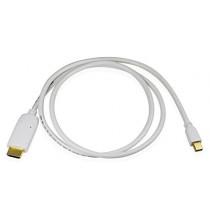 Cablesson Cable adaptateur vidéo Mini DisplayPort vers HDMI Compatible avec Apple iMac Unibody MacBook Pro Air et PC avec Mini DisplayPort
