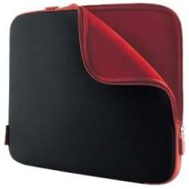 """Belkin F8N049eaBR Etui/housse universelle en Neoprene pour PC Portable 17"""" Noir/Rouge"""