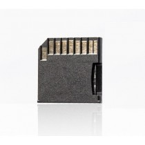 Blue bd@ Adaptateur de carte micro SD (TF)/SD compatible avec Macbook Pro et Macbook Air Noir
