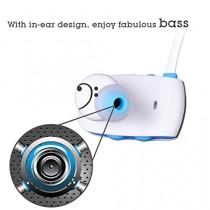 Avantree aptX Ecouteurs sportifs sans fil Bluetooth 4,0, super effet base -- Sacool Pro Blanc / Bleu