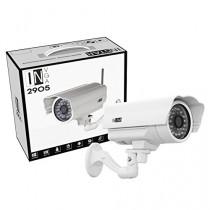 INSTAR IN-2905 (blanc) IP de la caméra / WiFi 54 Mbps (résistant aux intempéries / Night Vision / antenne 5DB / TOUT NOUVEAU! Avec une adresse Internet fixe! Attention maintenant! Acheter! Un objectif grand-angle (155 degrés) ou un chauffage à commande au