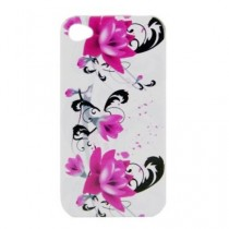 SODIAL(TM) Bo?tier Coque dur pour Apple iPhone 4 4G
