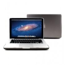 GMYLE Package Gris 3 en 1 pour Macbook Pro 13 - Coque mate - Skin clavier en silicone (US Layout) - Protecteur d'écran invisible (ne convient pas pour Macbook Pro 13 Retina)